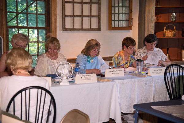 History Rich House Hosts Board Of Federated Garden Clubs